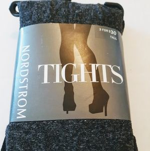 Nordstrom Charcoal Heather Tights Size Tall